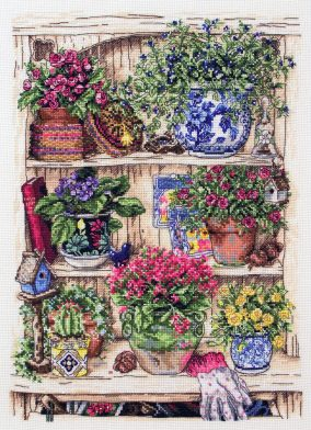 Broderie jardin Bits and Bobs »