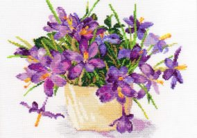 "Embroidery ""Crocus"""