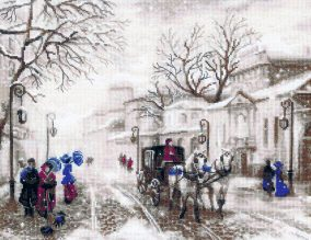 "Embroidery ""Old street"""
