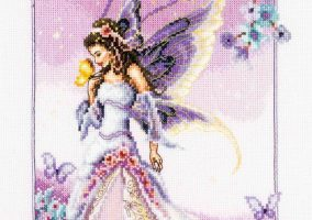 "Embroidery ""Lilac Fairy"""