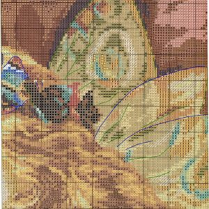 Embroidery scheme Fairy (Alice) 2 from 4
