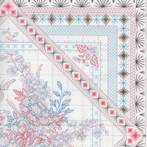 Схема вышивки Flowers and Lace (Dimensions) 2 z 4