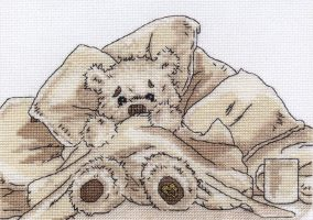 "Embroidery ""Lickle bit snuggly"""