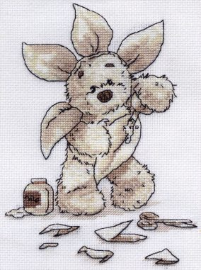 "Embroidery ""Busy Lickle Bee"""