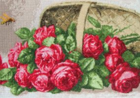 "Embroidery ""rose lukoške"""
