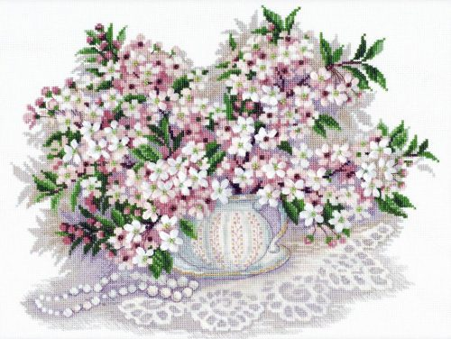 Embroidery Cherry blossom (Riolis