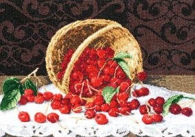Embroidery «Cherry»