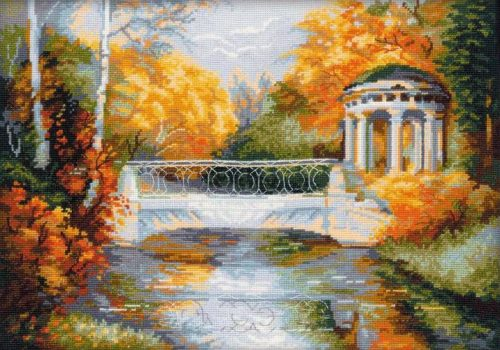 Embroidery autumn Park (Riolis)