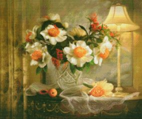 "Embroidery ""Formal still life"""