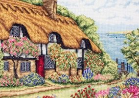 Stickerei «Seaview Cottage»