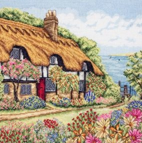 "Broderi ""Seaview Cottage"""