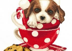 Embroidery new St. Bernard ""
