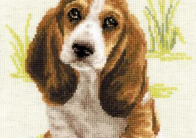 "Embroidery ""Baby Basset"""