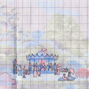 Embroidery scheme a walk in the Park (Dimensions) 1 from 4