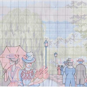 Embroidery scheme a walk in the Park (Dimensions) 2 from 4