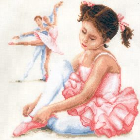 Stickerei «Ballet Lesson»