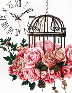 "Embroidery ""Rose Cage"""