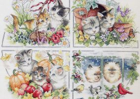 Kittens and seasons