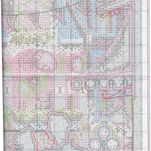 Embroidery scheme Midnight dance (Dimensions) 2 from 6
