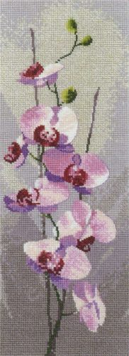 Embroidery Pink orchids (Heritage)