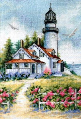 The picturesque lighthouse