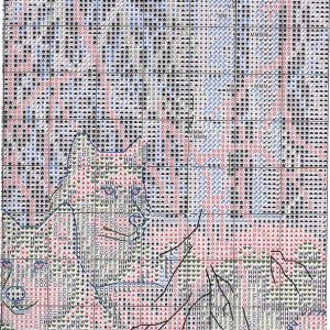 Embroidery lace Winter scheme (Dimensions) 3 from 6