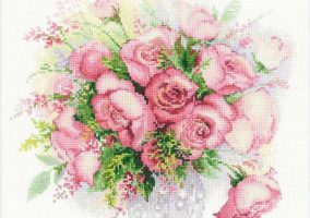 "Stickerei ""Aquarell Roses"""