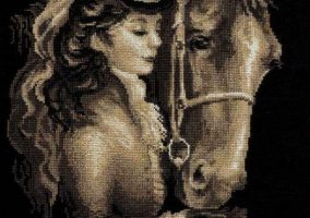 "Cross Stitch ""Amazono"""