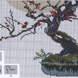 Embroidery Bonsai - Wish prosperity (Riolis) 2 from 2