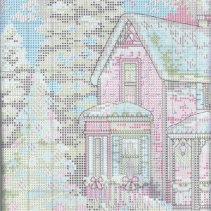 Embroidery scheme home for the holidays (Dimensions) 1 from 6