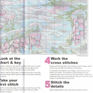 Embroidery scheme home for the holidays (Dimensions) 6 from 6