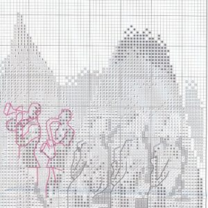 Embroidery scheme Trish Biddle - Glamorous woman in luxurious places (RTO) 2 from 4