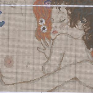 Embroidery scheme motherly love (Riolis) 2 from 2