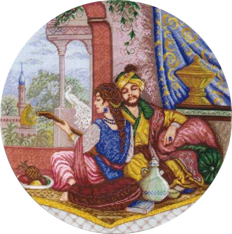 Embroidery Melody Of Persia
