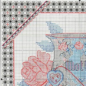 Embroidery scheme Mamina Cup (Dimensions) 1 from 4