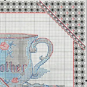Embroidery scheme Mamina Cup (Dimensions) 2 from 4