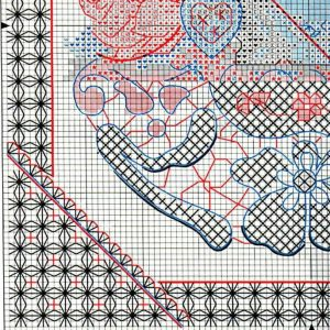 Embroidery scheme Mamina Cup (Dimensions) 3 from 4