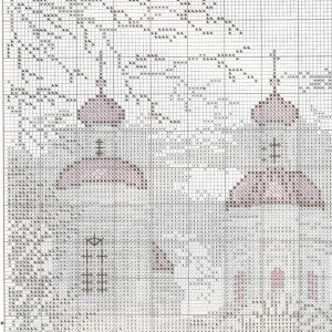 Embroidery scheme nikolo-Bogoyavlensky Cathedral of the sea (RTO) 1 from 4