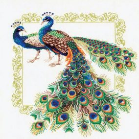 "Embroidery ""Peacocks"""