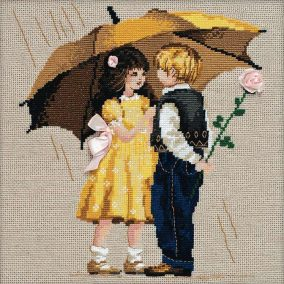 "Embroidery ""First date"""