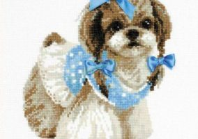 "Bordado ""Shih tzu"""