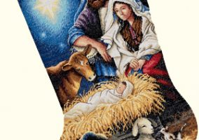Holy Night Stocking
