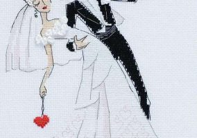 "Broderie ""Wedding Waltz"""
