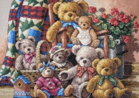 Broderie « ours de collection »