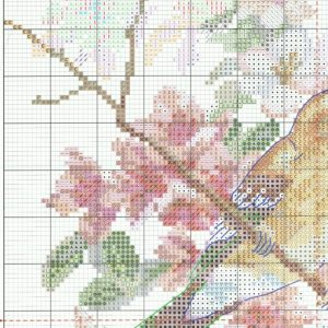 Stitch diagram spring song (Alice) 1 from 4