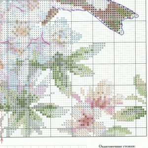 Stitch diagram spring song (Alice) 4 from 4